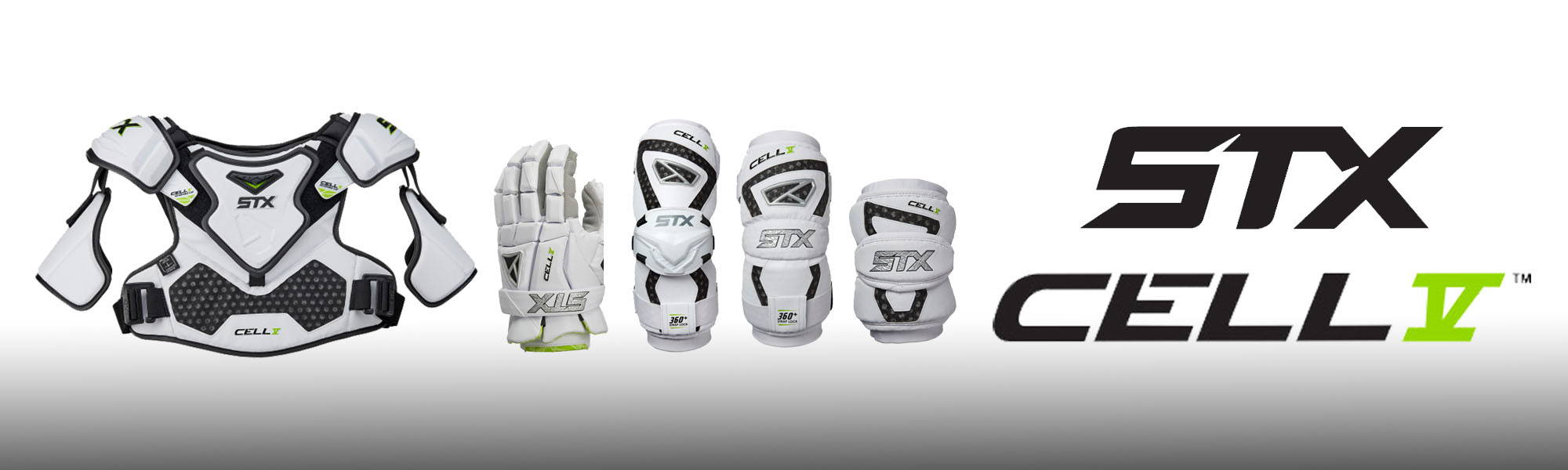STX CELL V PROTECTION LINE | TOP STRING LACROSSE