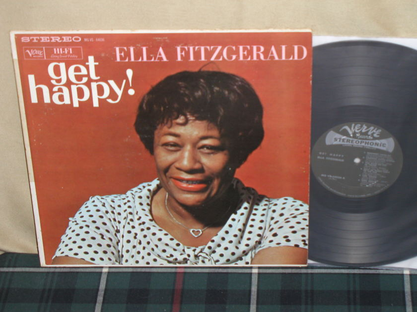 Ella Fitzgerald - get happy!    Verve STEREO from 50's