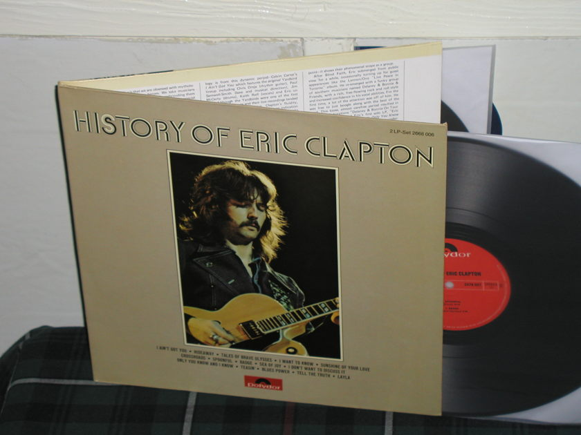 Eric Clapton - History Of Eric Clapton (Pics) 2 LP German Import