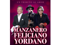 Manzanero, Feliciano, and Yordano VIP concert tickets