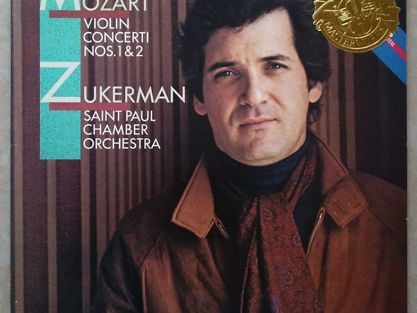 CBS Digital | ZUKERMAN/MOZART - Violin Concertos Nos. 1 & 2 / NM