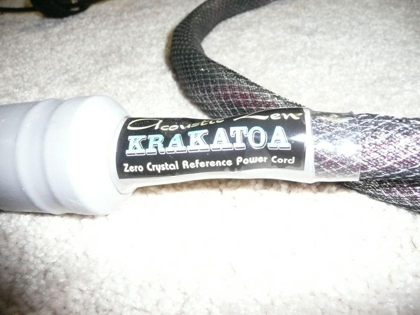 Acoustic Zen Krakatoa Power Cord 5 Feet