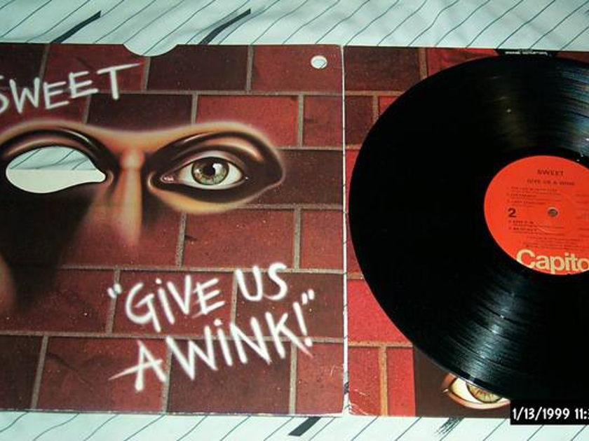 Sweet - Give Us A Wink lp nm