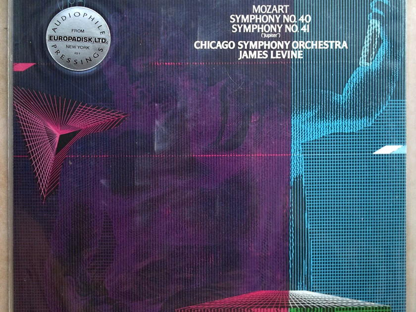 Sealed RCA Digital   LEVINE/MOZART - Symphonies Nos. 40 & 41 / Audiophile Pressings