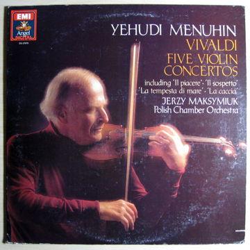 Jerzy Maksymiuk – Violin Concertos