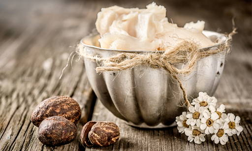 Shea Butter Oil of the charmingly named African Butyrospermum Parkii tree