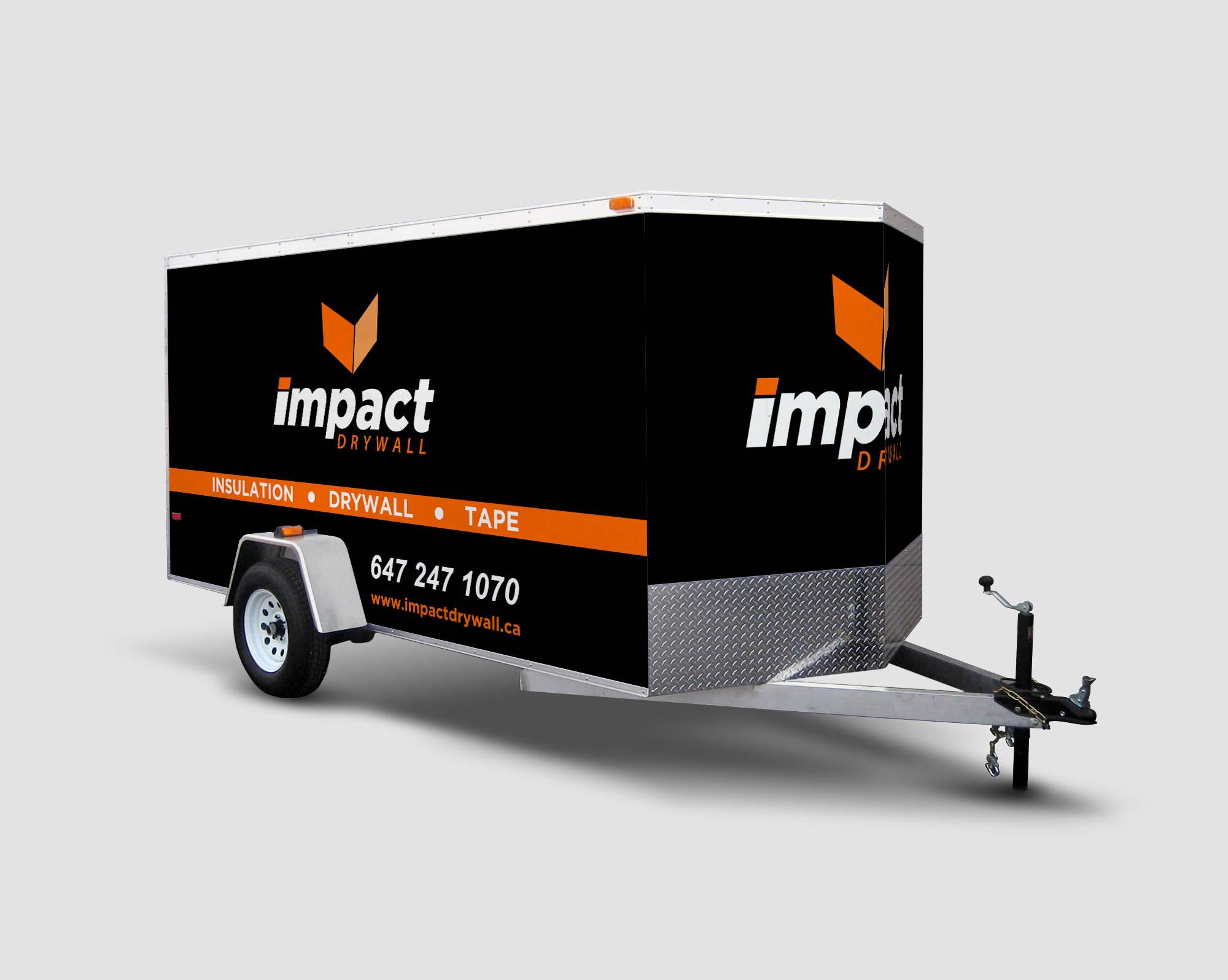 Enclosed Trailer Wraps Amp Graphics Toronto Car Wrap