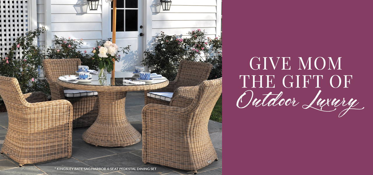 Give Mom the Gift of Outdoor Luxury
