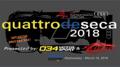 Quattro de Seca 2018 One Day HPDE (92dB)