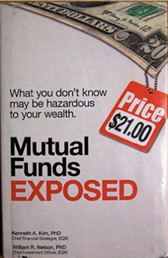 EQIS execs William Nelson and Kenneth Kim wrote the -- or at least a -- book on the evils of mutual funds.