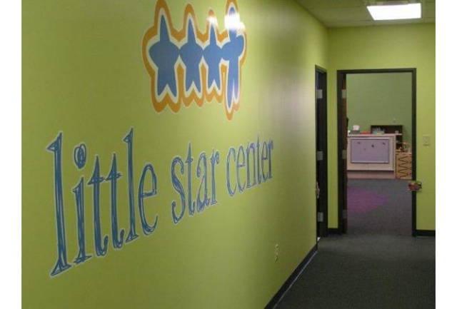 little star center wall decal