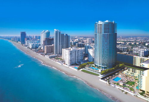 skyview of Hollywood FL