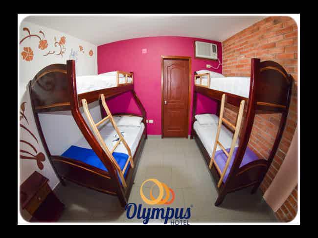Promoción Temporada 2018 en Hotel Olympus !!-Montañita