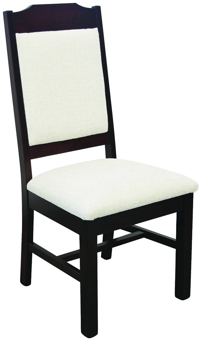 Wilson Fabric Solid Wood, Handcrafted Kitchen Chair or DIning Chair from Harvest Home Interiors Amish Furniture