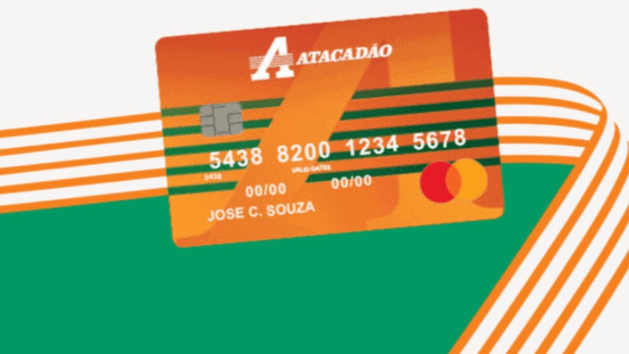 Condições de pagamento do cartão Atacadão