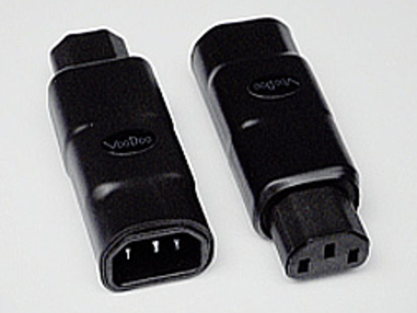 VooDoo Cable  IEC Adapters - 15 Amp or 20 Amp - Cryo-Treated