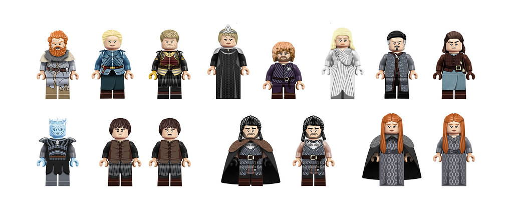 LEGO Game of the Thrones Minifigures