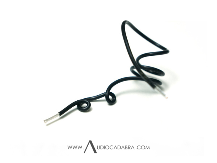Audiocadabra™ Ultimus3™ Shorty Solid-Silver USB Cables (Pay Less For More!)