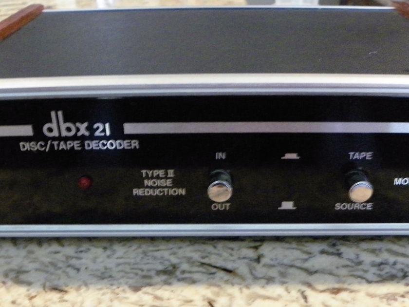 dbx 21 Disc decoder