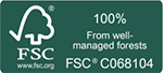 Logo for FSC Certification