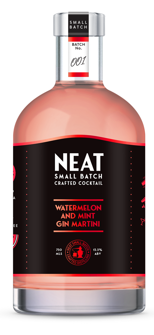 Good George Neat Watermelon and Mint Gin Martini