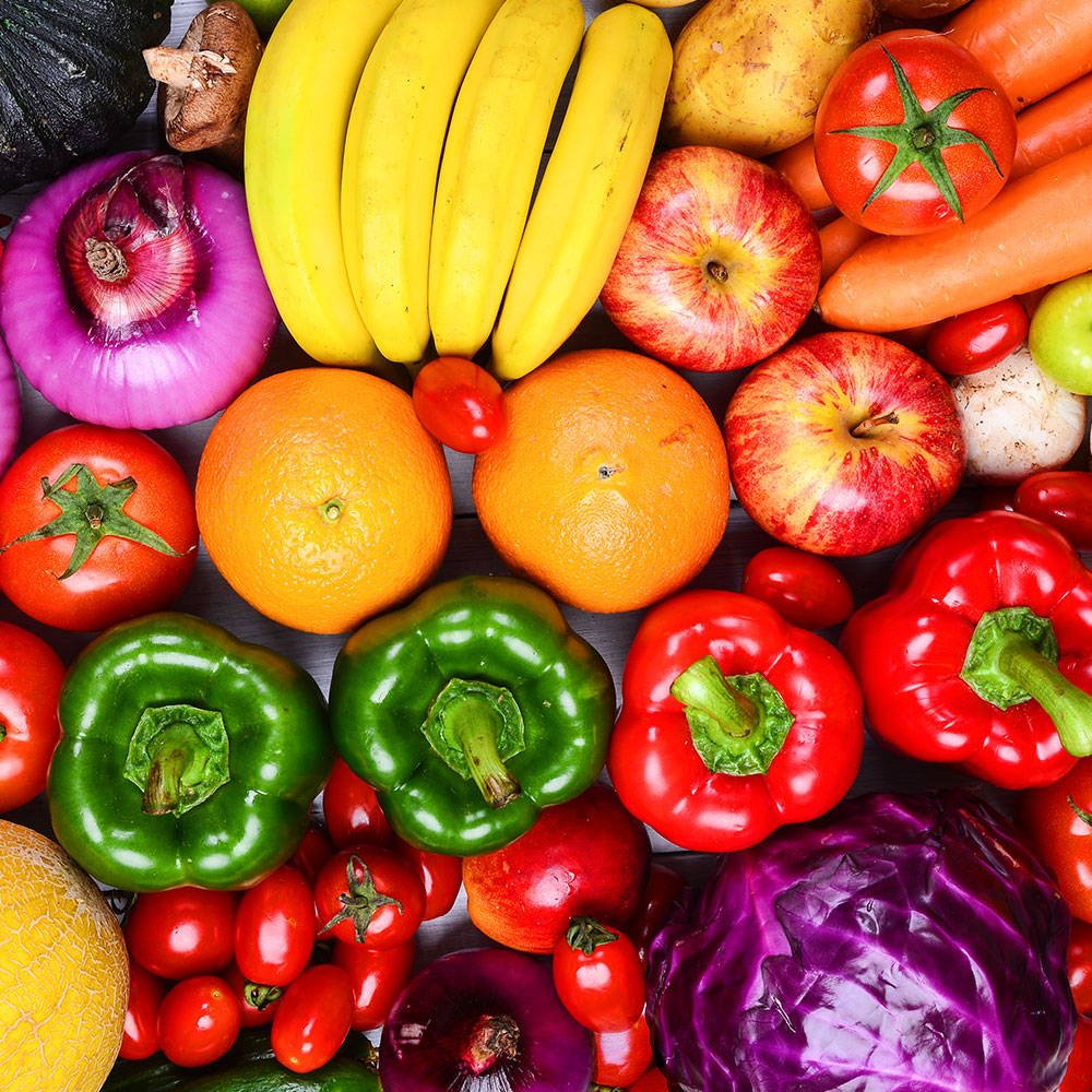 Fruits And Vegetables - Healthy Eating For The Menopause