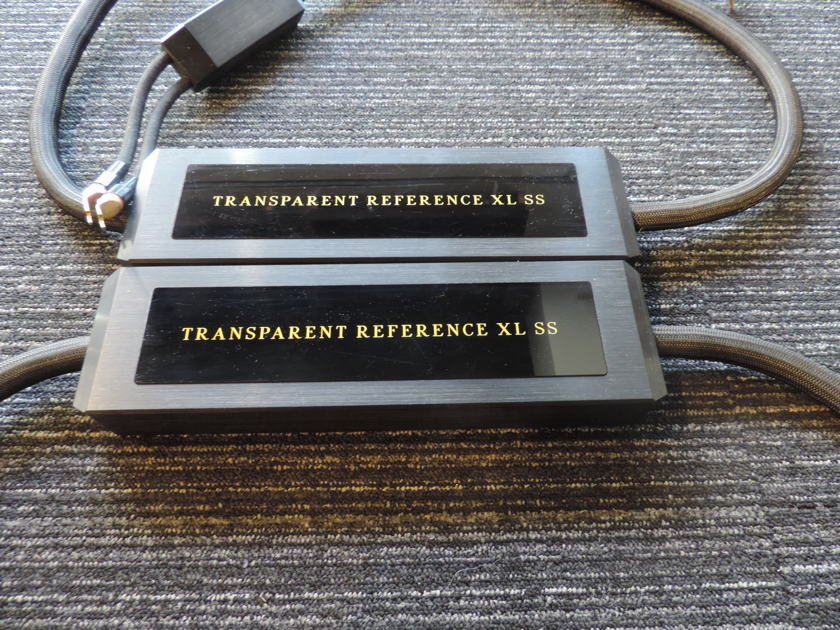 Transparent Audio Reference XL SS  Speaker Cable 2.5M Pair - Spades