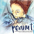 preemie reading book peanut