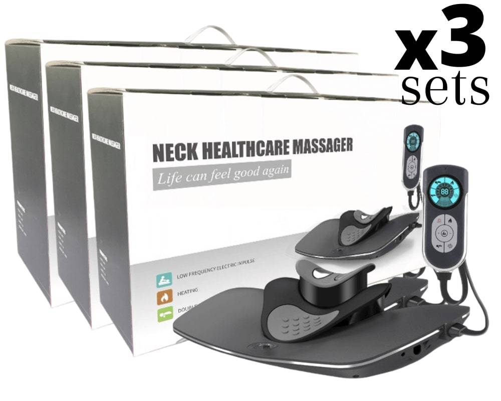 Neck Decompression at Home, Neck Massager, Spine Decompression Device