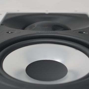 "Monitor Audio WT280-IDC 3-way in-wall speaker with 8"" woofer"