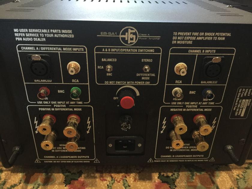 PBN Audio EB-SA1 Class A Amplifier
