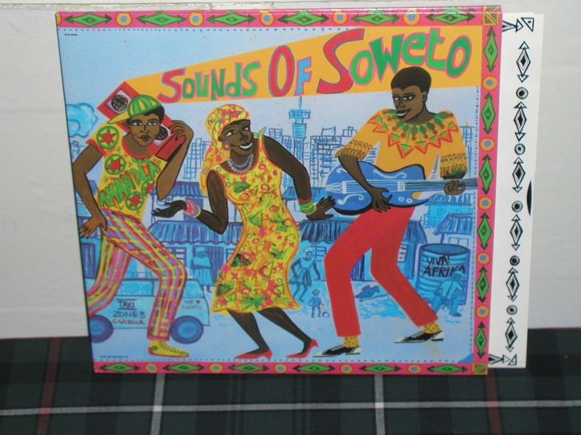 Various - Sounds Of Soweto (Pics) Rainbow Capitol  wally  2lp
