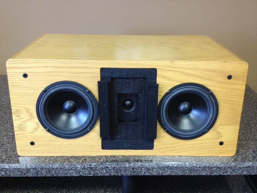 Dunlavy Audio Labs SC-2cc Oak Finish