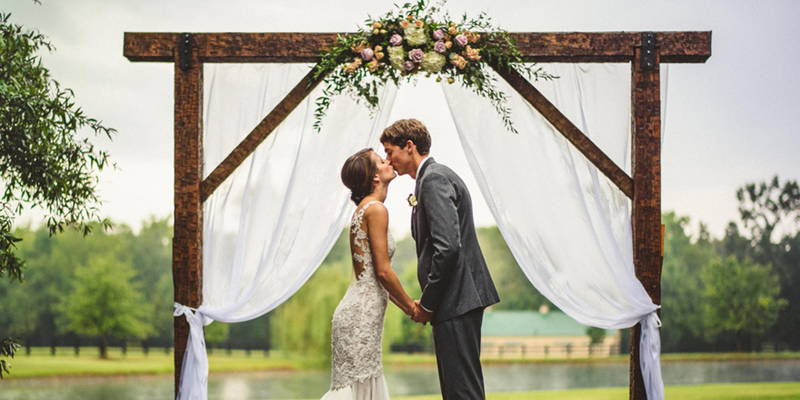 Rainy Day Farm Wedding
