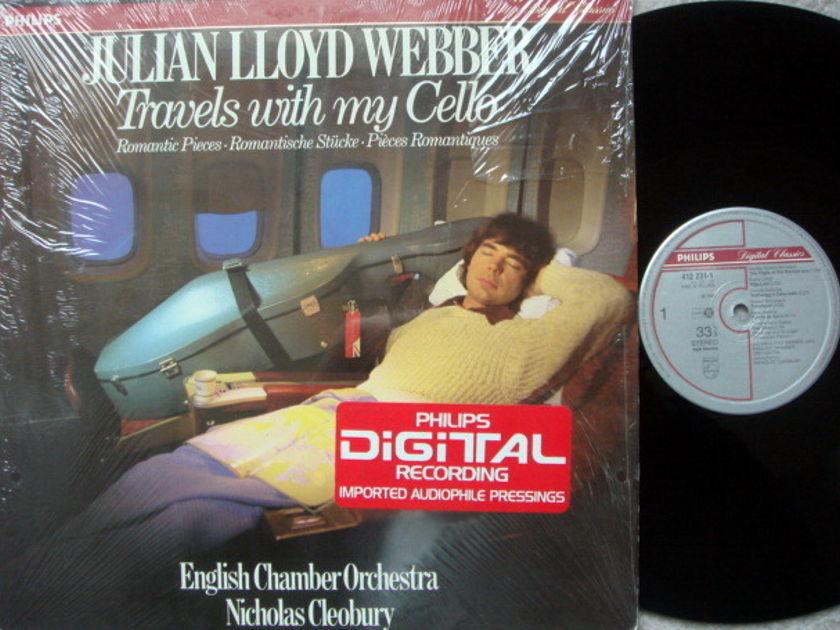 Philips Digital / JULIAN WEBBER,  - Cello Romantic Pieces, MINT!