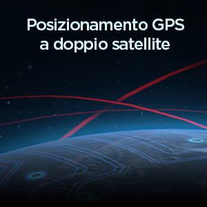 Amazfit T-Rex - Posizionamento GPS a doppio satellite ad alta precisione