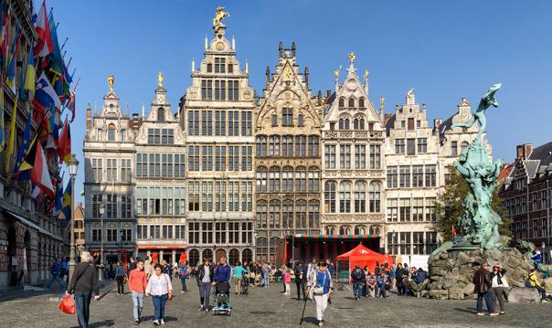 Антверпен, Гент  (выезд из Дюссельдорфа)
