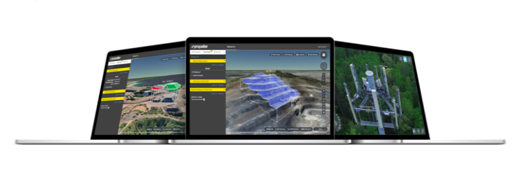 3D maping software captured with Drones