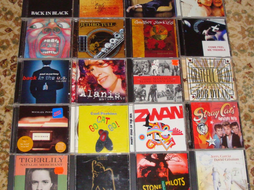 20 CD's McCartney-Garcia-Counting - Crows-CowboyJunkies Etc. FREE SHIPPING