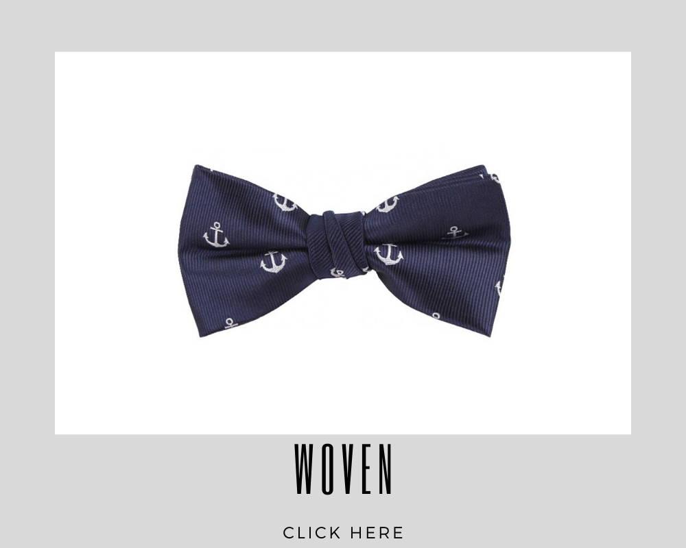 Custom Woven Bow Tie