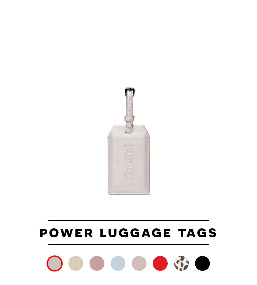Power Luggage Tag - Fly Girl