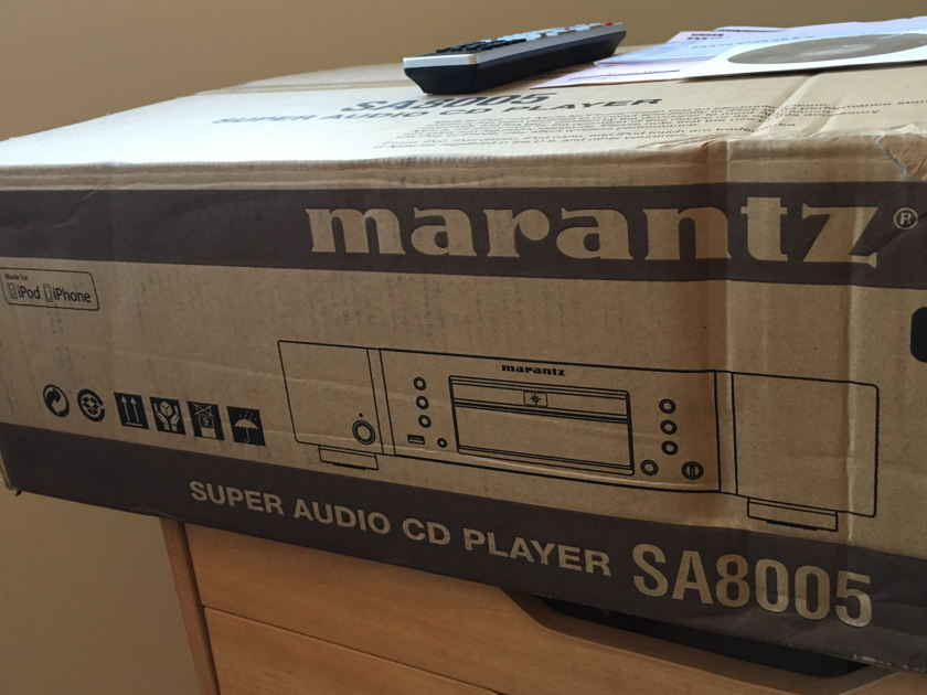 Marantz SA8005 Mint SACD Player DAC