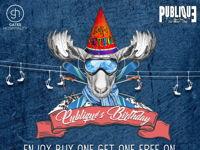 PUBLIQUE'S 3RD BIRTHDAY image