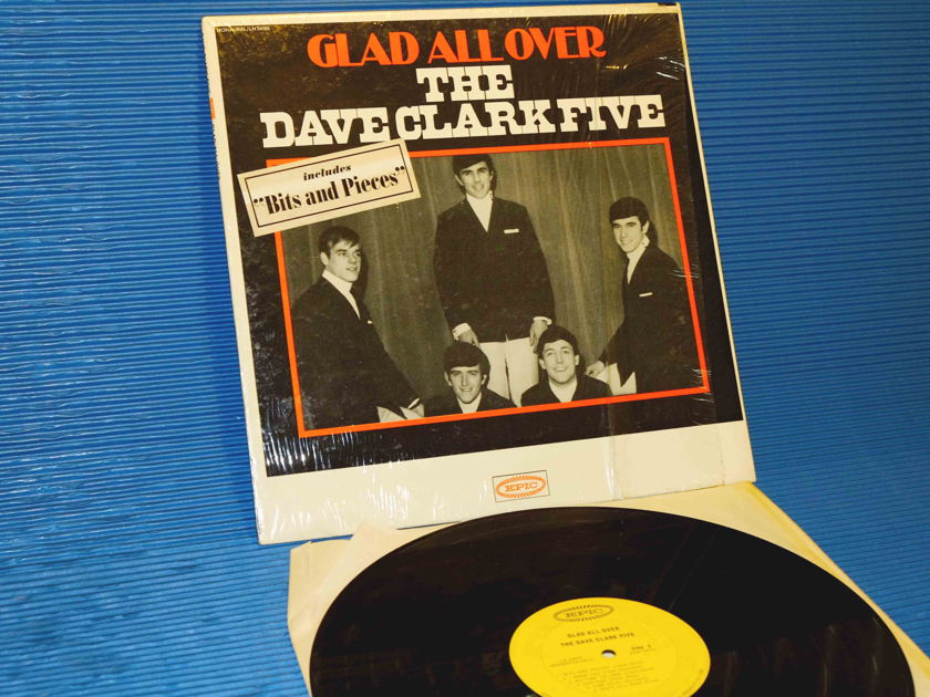 "THE DAVE CLARK FIVE - ""GLAD ALL OVER"" - Epic 1964 Mono  1st pressing 'no instruments' cover"