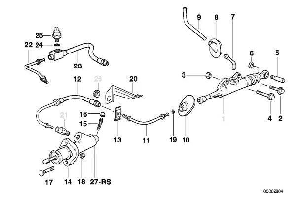E36 Clutch Replacement 32101157375