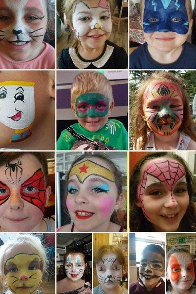 2 hours Face-painting