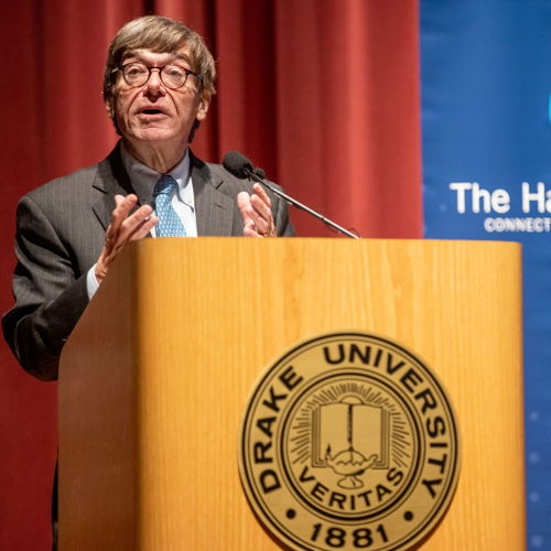 Picture of Renowned political analyst Charlie Cook will deliver his annual Harkin Institute lecture virtually on November 30, 2020.