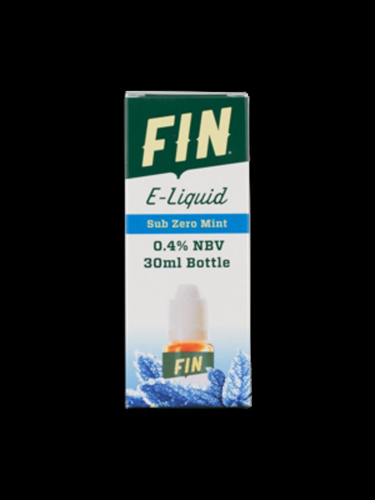 FIN E-Liquid 30ML Bottle Sub Zero Mint