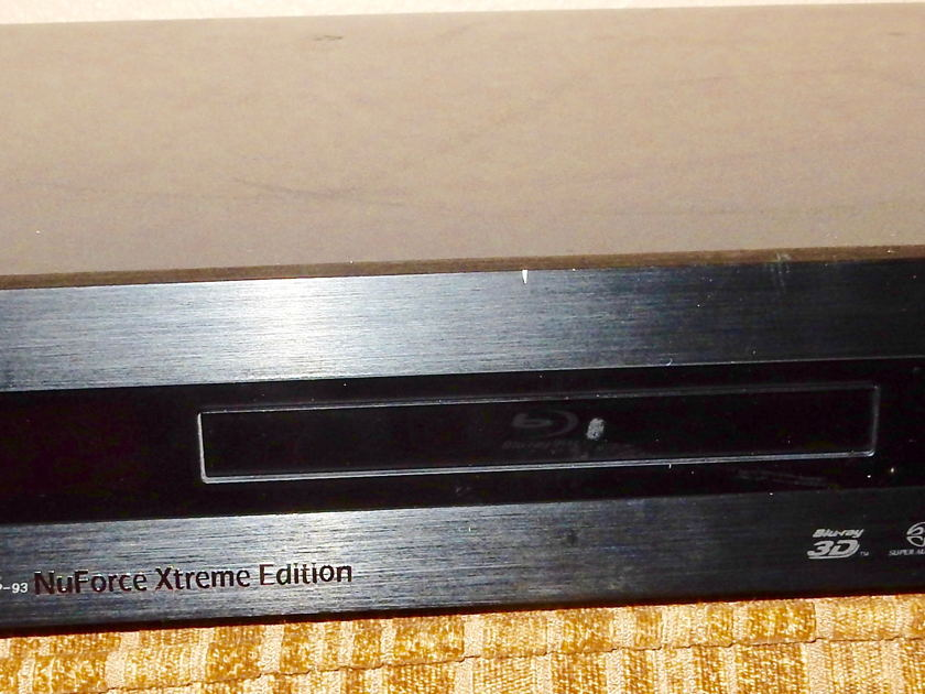 NuForce Xtreme Oppo 93 Highly modified DVD player