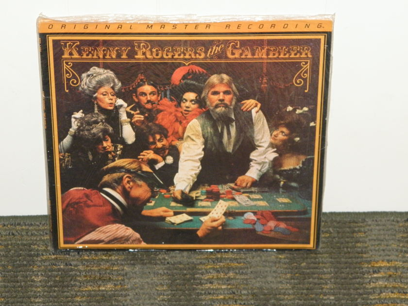 Kenny Rogers - The Gambler    MFSL JVC Japan pressing STILL SEALED/NEW